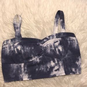 Tops - *3 for 12* Blue Stone Wash Bralette